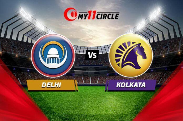Delhi vs Kolkata Match Prediction