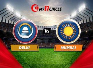 Delhi vs Mumbai Match Prediction