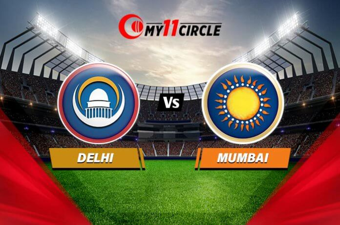 Delhi vs Mumbai Match Prediction