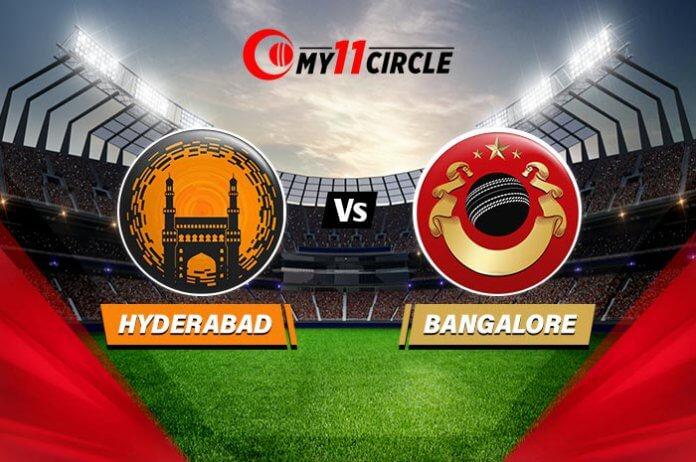 Hyderabad vs Bangalore