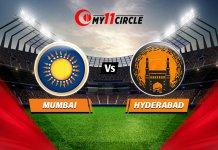 Mumbai vs Hyderabad, Indian T20 League: Match prediction
