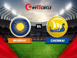 Mumbai vs Chennai, Indian T20 League Match prediction