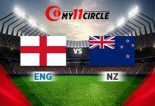 England vs New Zealand Match Prediction