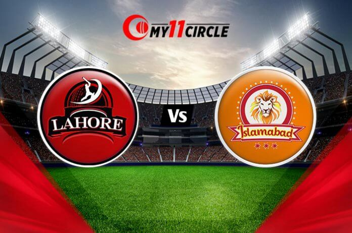 Lahore vs Islamabad, Pakistan T20 League