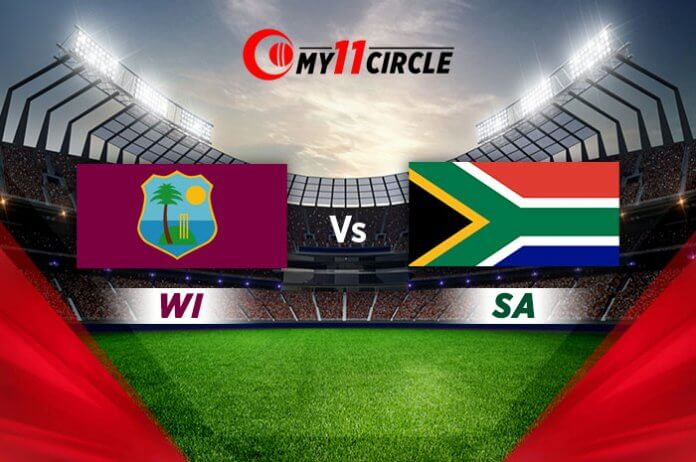 West Indies vs South Africa, 3rd T20I