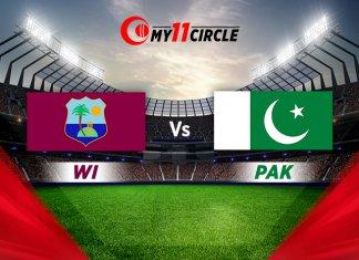 West Indies vs Pakistan, 1st T20I Match Prediction